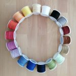 wildlederband-farbkreis